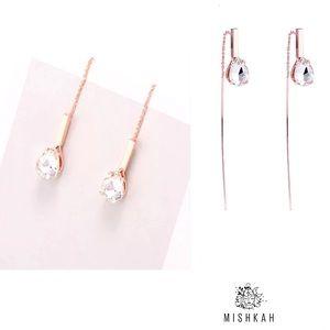 Just In🎉Beautiful CZ Long drop Earrings